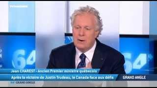 """Jean Charest : """"Le Québec, c'est la porte d'entrée de l'Europe en Amérique"""""""