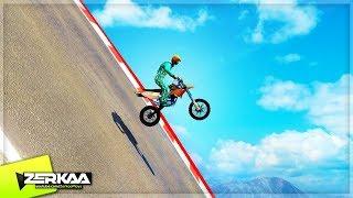 MOST DANGEROUS DOWNHILL BIKE RACE! (GTA 5)