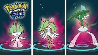 El BUG de KIRLIA HEMBRA y la EVOLUCIÓN de GALLADE en Pokémon GO [Keibron]