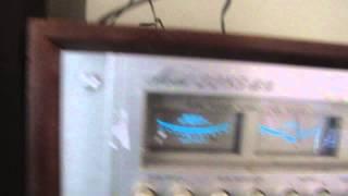 Vintage Marantz 2285bd Stereo Receiver Wood Cabinet