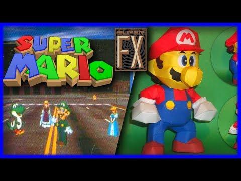 Super Mario FX - Pre Super Mario 64 | Gaming History