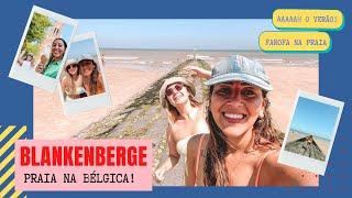 Vlog: Praia de Blankenberge, verão na Bélgica finalmente!!