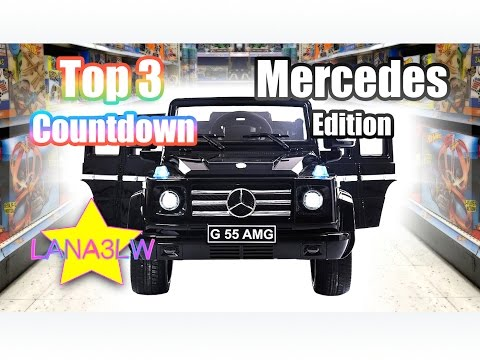 Most Popular Mercedes Best Selling Kids Electric Ride On Cars - Top 3 Countdown