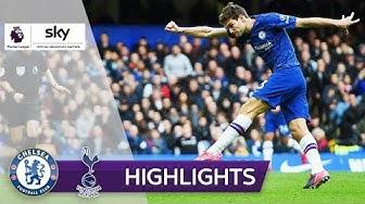 Chelsea siegt trotz Rüdiger-Eigentor   FC Chelsea - Tottenham Hotspur 2:1   Highlights