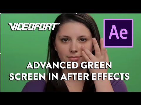 After Effects: Advanced Green Screen Tutorial