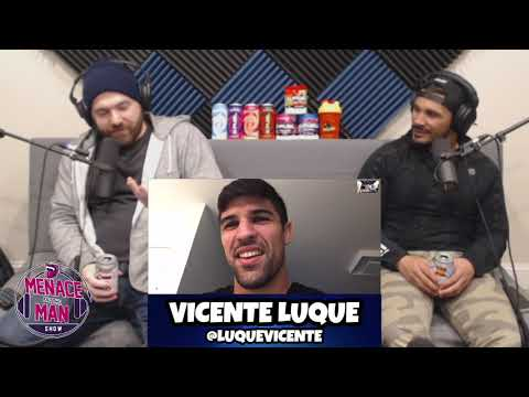 Vicente Luque talks Conor vs Cowboy, training with Kamaru Usman, Gilbert Burns vs Demian Maia & more