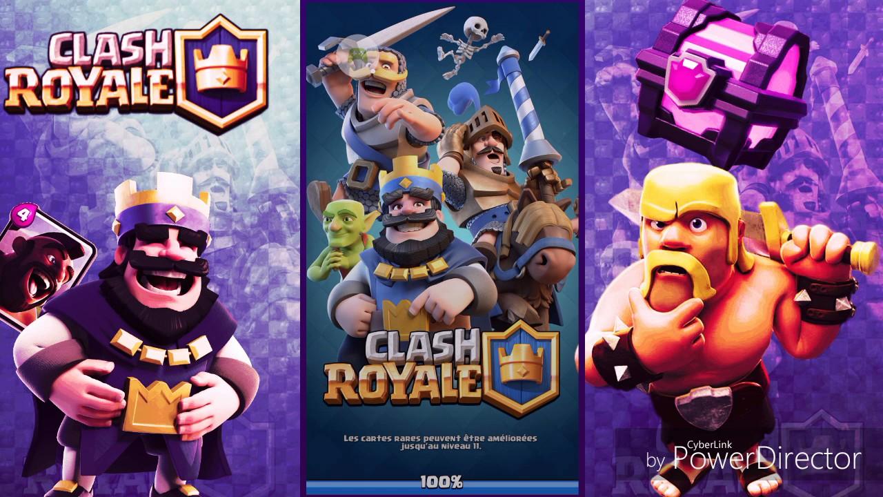 Clash royale pr sentation de mon deck sorcier de glace for Deck clash royale sorcier de glace