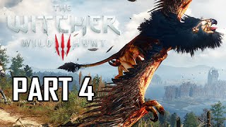The Witcher 3: Wild Hunt Walkthrough Part 4 - Griffin Boss (PS4 Let