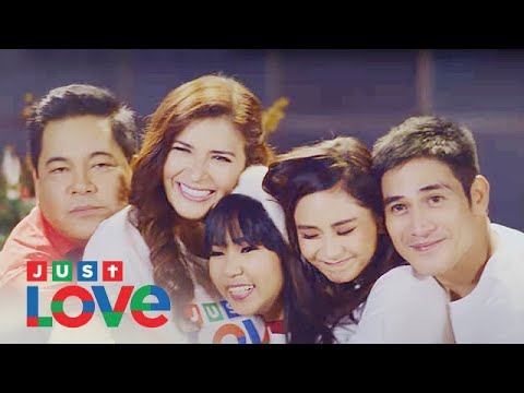 "Thumbnail: ABS-CBN Christmas Station ID 2017 ""Just Love Ngayong Christmas"" Recording Lyric Video"