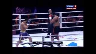 Badr Hari vs Zabit Samedov K-1 Moscow (5-25-13) KNOCKOUT