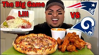 The BIG GAME LIII FEAST | Pizza and Wings