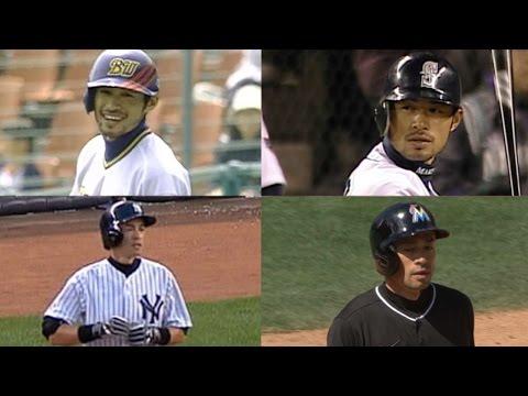 A look back at Ichiro's numerous career milestones