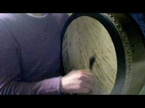 J. Parker Wood on Irish Bodhran - The Maids of Galway