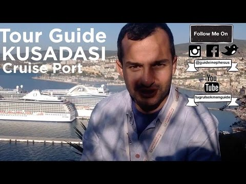 Tour Guide in Kusadasi Cruise Port Tugrul Sokmen