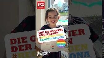 Die Gewinner der Aktion 🌈 #REGENBOGENGEGENCORONA vom Anzeigenblatt Pfullendorf