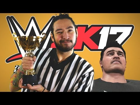 OGRE vs JEW STEEL CAGE MATCH  • WWE 2K17 Tournament