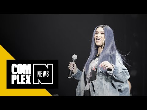 Cardi B Calls Out 'Dickhead' Trump