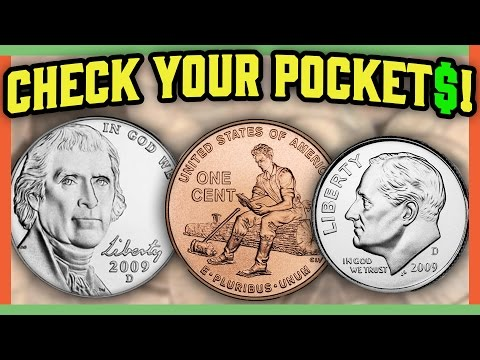 RARE MODERN COINS WORTH MONEY - VALUABLE COINS IN POCKET CHANGE!!