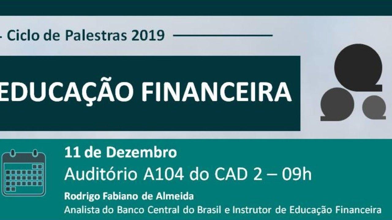 Palestra Educação Financeira 11 12 2019