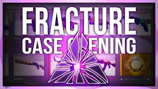 FRACTURE CASE OPENING (NEW CS:GO CASE)