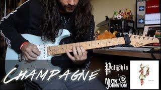 Polyphia Feat. Nick Johnston | Champagne  Nj Solo  | Cover By Alexandre Magno