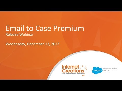 Email to Case Premium - Winter Release Webinar