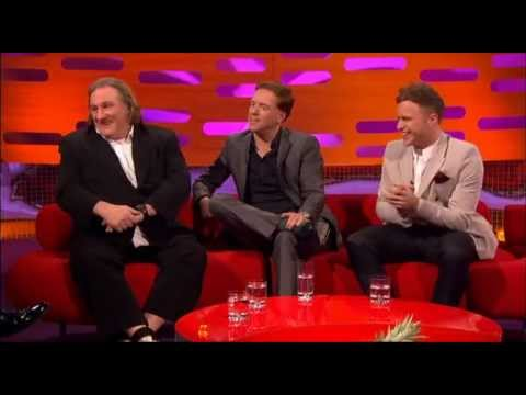 Damian Lewis on The Graham Norton Show [Part 1/3]