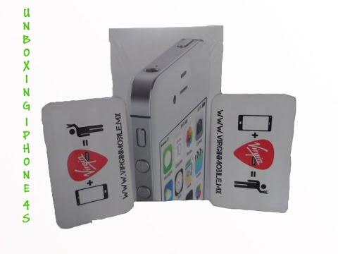 iPhone 4S Unboxing con Virgin Mobile México