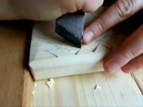 видео: Резьба по дереву. Урок 1 (геометрическая)