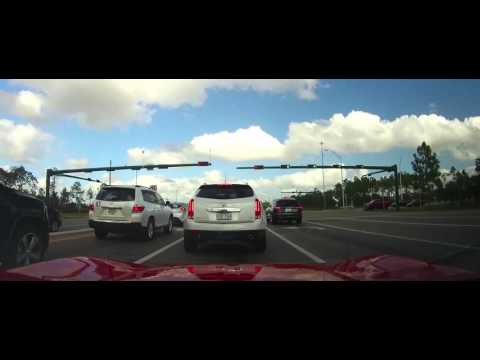 Driving from The Florida Sports Park in Naples to Gateway
