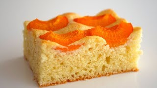 Абрикосовый пирог на сметане. Просто, доступно, вкусно