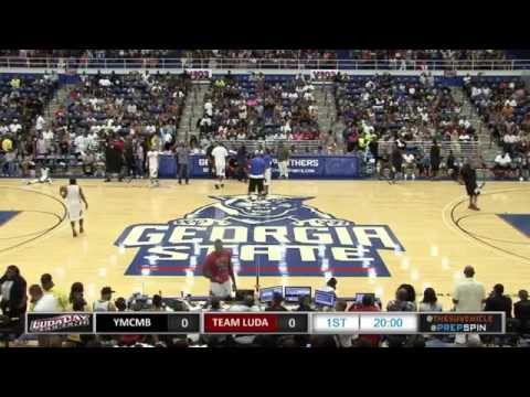 Ludacris vs. Lil Wayne YMCMB - LudaDay Weekend Celebrity Basketball Game