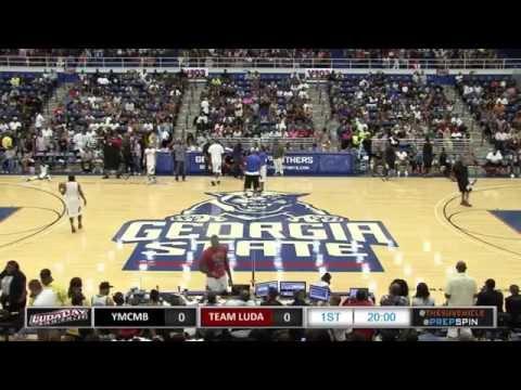 Ludacris Vs. Lil Wayne YMCMB - LudaDay Weekend Celebrity Basketball Game