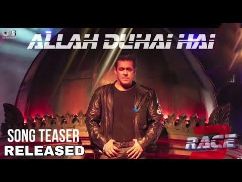 Allah Duhai Hai Teaser out, Race 3 song | Salman khan | jacqueline | Atif Aslam | Reaction By Mohit thumbnail