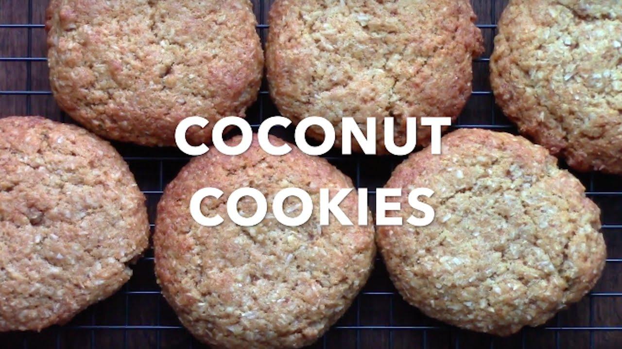 COCONUT COOKIES [Vegan]