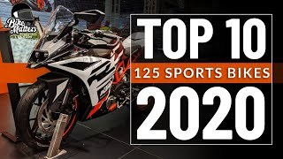Top 10 125cc Sports Bikes 2020!