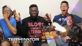 Terminator Dark Fate Comic-Con Trailer Reaction