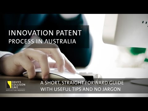 Innovation Patents - the process in Australia