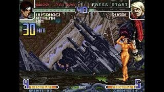 [TAS] KOF 2002 Ultra Remix - Athena/Kusanagi/Kim TeamPlay