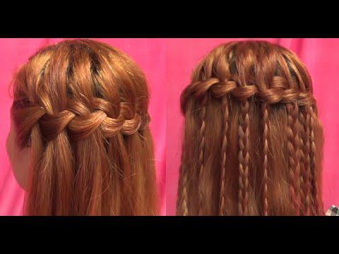 Hairstyles - Hướng Dẫn Cách Tết Tóc Thác Nước Đẹp