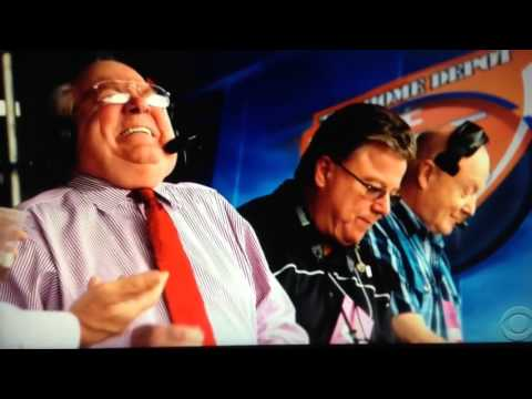 End of 2016 SEC Championship CBS broadcast tribute to Verne Lundquist 12/3/16