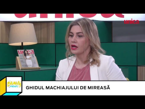 Despre machiajul de mireasă, cu Dana Petrina, make-up artist, LIVE, la Beauty News