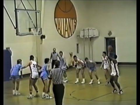 1987 Georgia Christian School Generals at Valwood School Valiants (basketball)