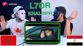 L7OR - KHALIWNI / Reaction Show 🇲🇦 / مبرووووك يالحر
