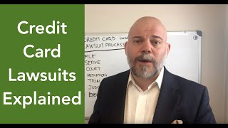 How do you beat credit card lawsuits?  [Midland, Portfolio Recovery, LVNV, Cache LLC]