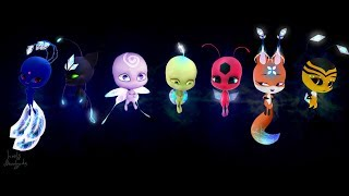 Miraculous Ladybug-【Speededit】:Ice Kwami! -|FanMade|-