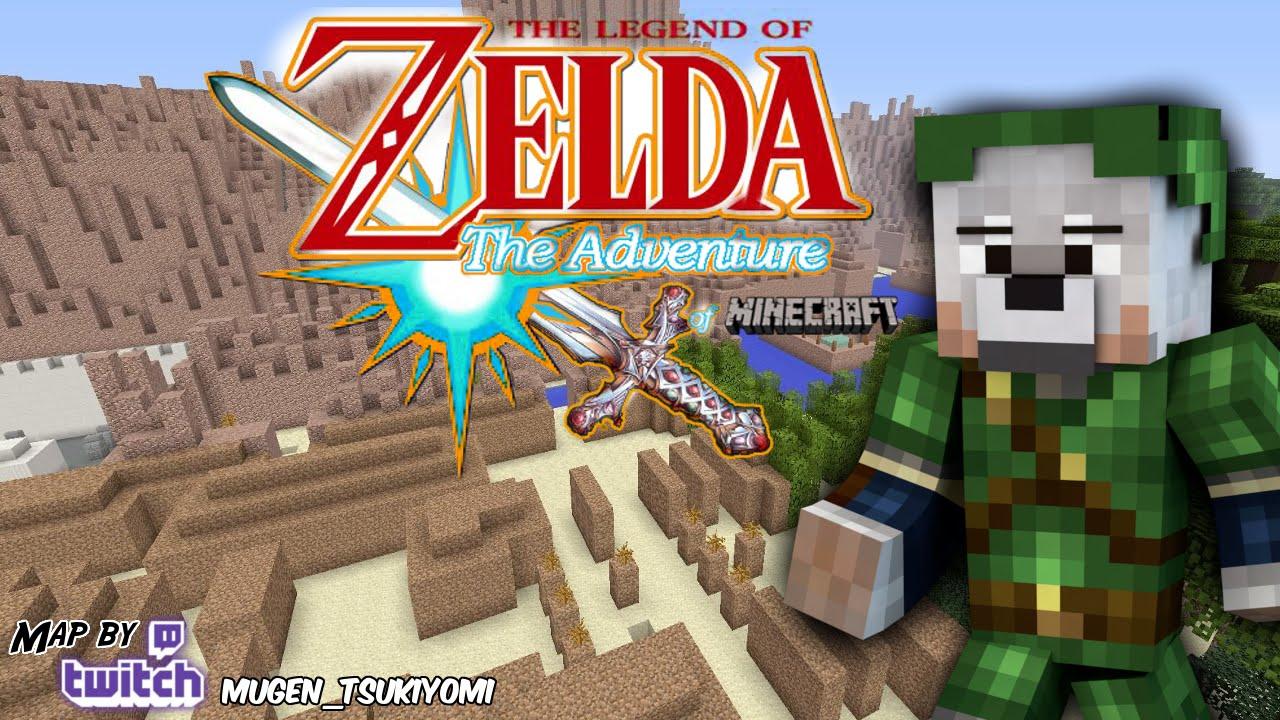DAS ABENTEUER BEGINNT! Minecraft The Legend of Zelda Adventure Map ...