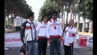 Napoli 28/29 Aprile 2007 - VEDI NAPOLI E POI MAIORI. YAMAHA ACCENDE LA VOGLIA DI MOTO.