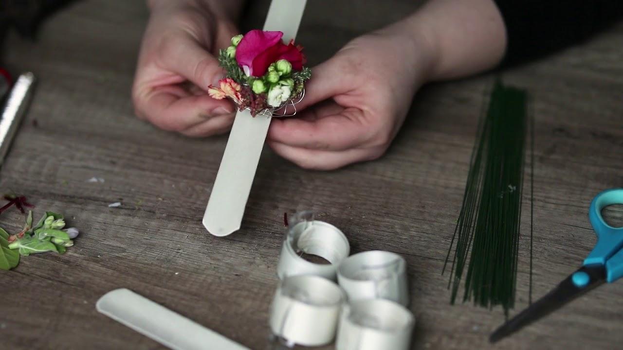 Blumen Armband Blumenschmuck Floristen Inspirationen Oasis