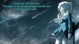 Repeat youtube video 「Nightcore」→ If I Lose Myself (+Lyrics)